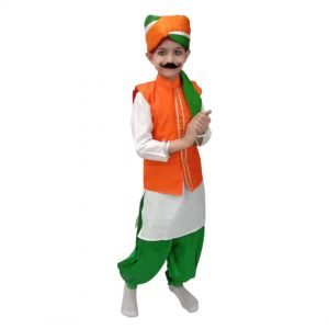 Dress For Independence Day – Tricolour Kurta Jacket
