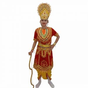 Ram Ramleela Red&Yellow Fancy dress costume