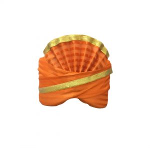 Orange pagdi Kids Fancy dress Accessory