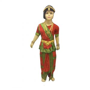 Bharatnatyam Costume – Mustard Indian Classical Dance