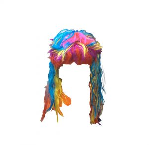 Multi Color Witch-Wig Kids Fancy dress Accessory