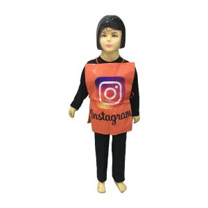 Instagram Dress – Kids Fancy Costume