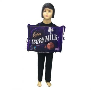 Dairy Milk Chocolate Costume – Kids Fancy Dress