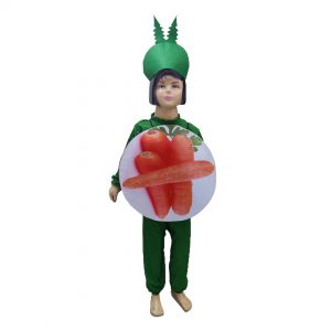 Carrot Fancy Dress For Kids