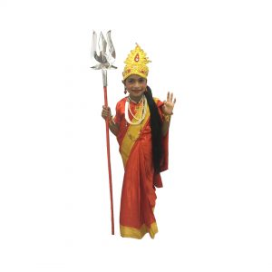 Orange Bharat mata kids Fancy dress