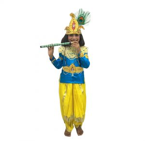 Krishna Fancy Dress Costume For Kids