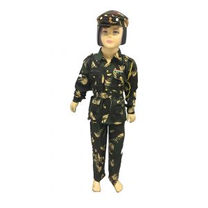 Indian Army Officer Uniform – Kids Fancy Costume