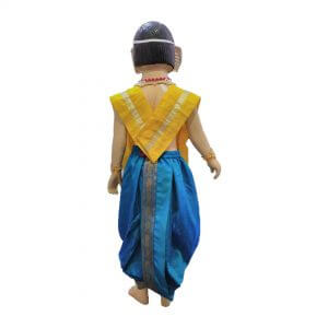 Lord Ganesha Costume – Yellow & Firozi Color