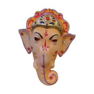 Lord Ganesha Mask Kids Fancy Dress Accessory