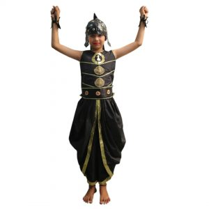 Baahubali Warrior Indian Movies Character Kids Fancy Dress Costume
