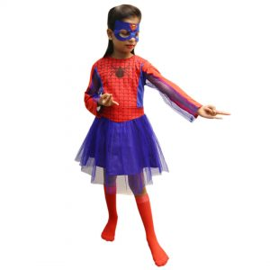 Spider Girl Fancy Dress For Kids