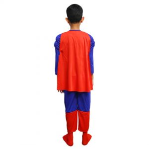 Superman Dress for Kids – Set of 3 (Costume,Mask,Cape)