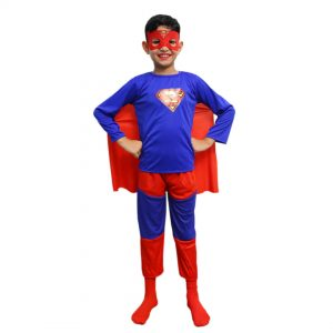 Superman Costume – Kids Fancy Dress