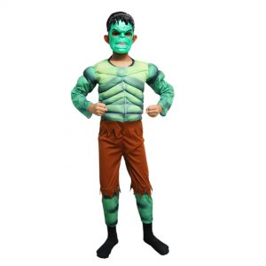 Hulk Costume Kids Fancy Dress