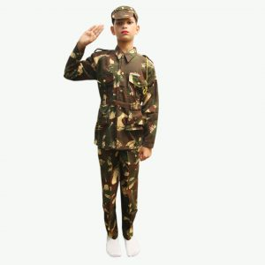 Indian Army Dress – Kids Fancy Costume