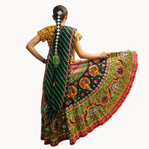 Garba Dress Girl Kids Fancy Dress Costume
