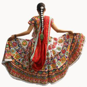 Guajrati Garba Dress For Girls – Indian State Costume
