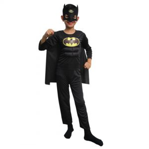 Batman Costume Complete Set (Dress, Headgear)