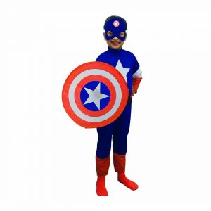 Captain America Dress For Kids Superhero Costume