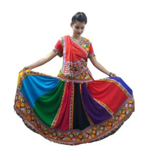 Garba Dance Dress For Girls