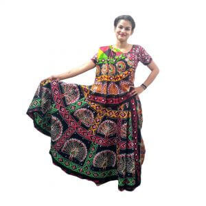 Gujarati Garba Dance Dress For Girls – Indian State Costume