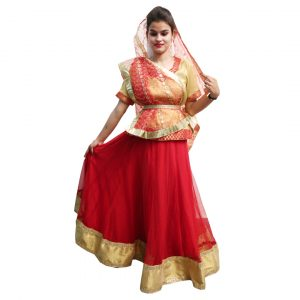 Sita Fancy Dress Ramayan Character Costume
