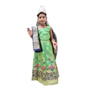 Sita Costume Indian Mythology Kids Fancy Dress