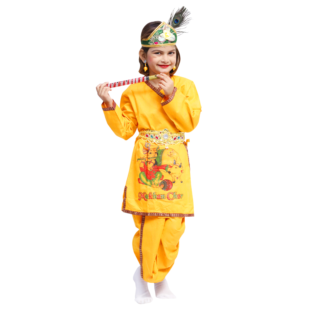 Dress Up Your Kids as Krishna or Radha with These Fancy Costumes