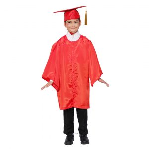 Convocation Graduation Gown Costume for Kids