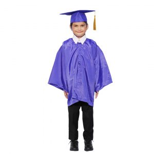 Convocation Graduation Gown Costume Dress for Kids